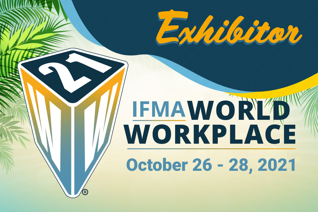 FacilityForce to Exhibit at IFMA's World Workplace October 26-28, 2021